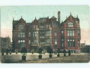 Divided-Back NICE VIEW St. Helens - Near Liverpool & Warrington UK i4854