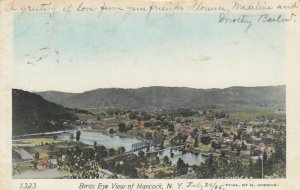HANCOCK , New York, 1905 ; Bird's Eye View