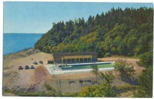 Canada, Swimming Pool, New Brunswick Fundy National Park, unused Postcard