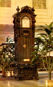 LA - New Orleans. New Monteleone Hotel, Hand-Carved Clock