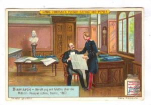 Liebig trade card; Bismarck, German General & chancellor, 1890s; #2