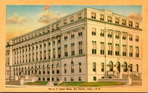 Iowa Des Moines United States Court House Dexter Press