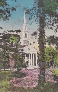 North Carolina Pinehurst The Village Chapel In Its Attractive Setting Albertype