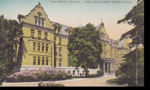 Indiana Notre Dame Holy Cross Saint Marys Academy Handcolored Albertype