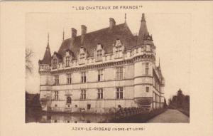 AZAY LE RIDEAU, Indre Et Loire, France, 1900-1910´s; Les Chateaux De France