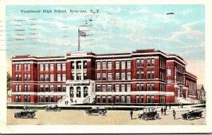 New York Syracuse Vocational High School 1927