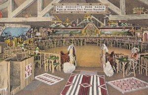 ATLANTIC CITY , New Jersey , 1943 , DUDE RANCH Bar & Dance Floor