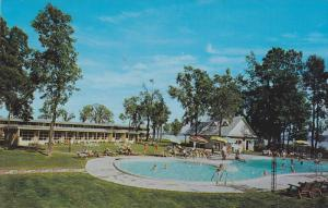Swimming Pool, Motel des Laurentides,BEAUPORT-QUEB EC, Canada , 40-60´s