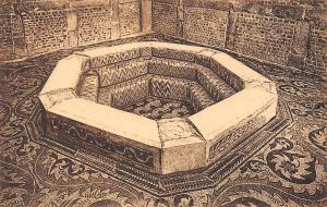 Algeria Ruines Romaines de Timgad, Baptistere Byzantin