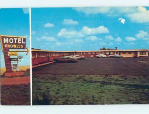 Unused Pre-1980 KNOWLES MOTEL Moose Jaw Saskatchewan SK o0361-12