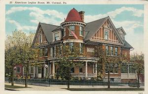 MT. CARMEL, Pennsylvania, 1910s ; American Legion Home