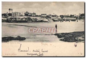 Old Postcard Royan Conche of Chay