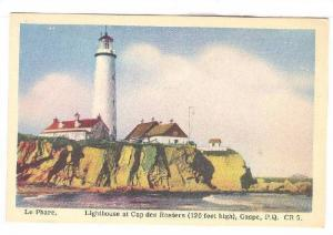 Le Phare, Lighthouse At Cap Des Rosiers (120 Feet High), Gaspe, Quebec, Canad...