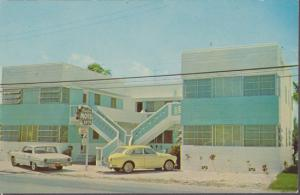 HOLLYWOOD BEACH, view of the Carter Apartments, 1900 N. Ocean Drive, 1960s