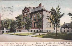Massachusetts Brockton Lincoln School 1906