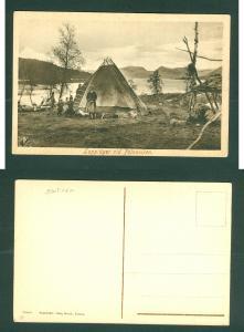Sweden. +_1910. Lapp,Samer Family Polnoviken