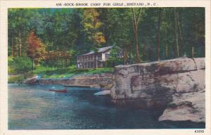North Carolina Brevard Rock-Brook Camp For Girls