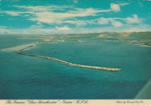 Guam The Famous Glass Breakwater