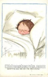 Artist Signed Grace Wiederseim / Drayton 1927 crease bottom right corner, few...