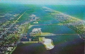 Florida Daytona Beach Aerial View Of Daytona Beach
