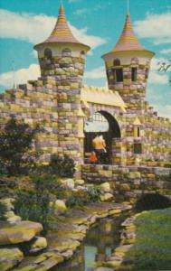 Canada Entrance Gate and Moat Children's Zoo Storyland Valley Edmonton Alberta