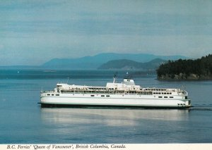 B.C. , Canada , 1960-80s ; Ferry M.V. QUEEN of VANCOUVER
