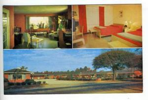 Dillon SC Pate's Motel Hospital Postcard