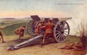 light field artillery used successfully in Europe A 3-INCH PIECE IN ACTION