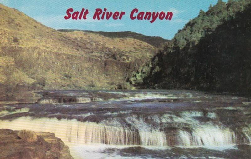 Arizona Salt River Canyon Navajo Falls
