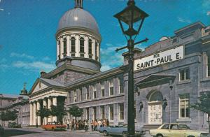 Old Montreal, Bonsecours Market, Municipal Offices, MONTREAL, Quebec, Canada,...
