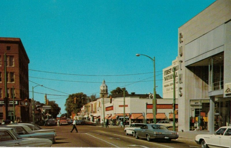 COLUMBUS, Mississippi, 1950-60s ; Fifth Street , North