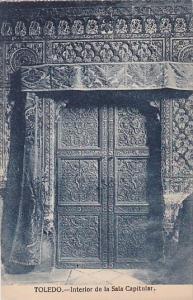 Spain Toledo Interior de la Sala Capitular