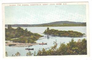 Along The Shore, Westfield, St. John River, New Brunswick, Canada, 1900-1910s