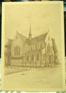 Belgium Huixen in Den Haan nr 8 St Monicakerk - unposted