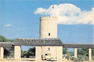 Namibia Okaukuejo-Hek, Okaukuejo Gate Car Voiture Auto