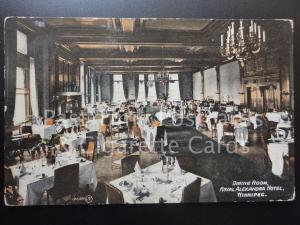 CANADA: Winnipeg, Royal Alexandra Hotel Dinning Room c1916