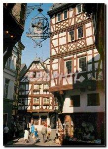 Modern Postcard Bernkastel in der Mosel
