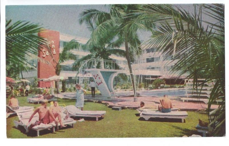 Sun n Sand Hotel Bombay India Juhu Beach Swimming Pool 1975