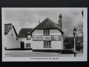 Devon IDE The Huntsman Inn - Old RP Postcard by Arthur Luxton