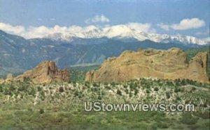 Pikes Peak & Garden of the Gods - Colorado Springs , Colorado CO