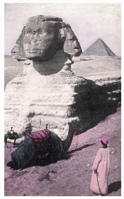 18998 Egypt 1908 The Great Sphinx