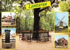 B108707 Netherlands Lunteren Mill, Moule Town Hall Park Promenade