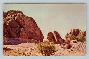 Prescott AZ- Arizona, Amphitheater of the Dells, Chrome Postcard