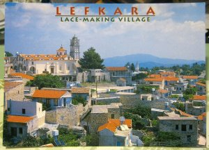 Cyprus Lefkara Lace Making Village - unposted