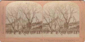 SV: MALOLOS , Philippines , 1900 ; Montana Volunteers raising USA Flag