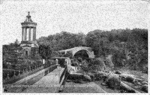 Burns Monument and Auld Brig O' Doon Alloway Ayrshire Postcard