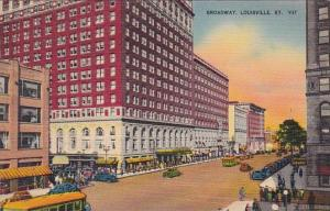 Kentucky Louisville Broadway