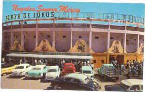 La Plaza de Toros, The bull Ring, Nogalas, Sonora, Mexico, Chrome
