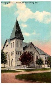 Florida  St Petersburg  Congregational Church