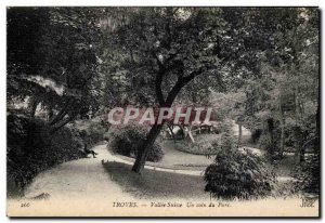 Troyes - Vallee Switzerland - A corner of the park - Old Postcard